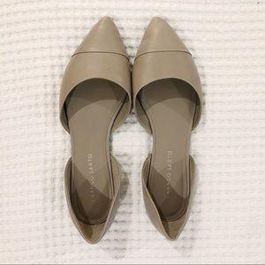 Franco Sarto Hawk D'orsay Flat, Tan/Khaki Leather